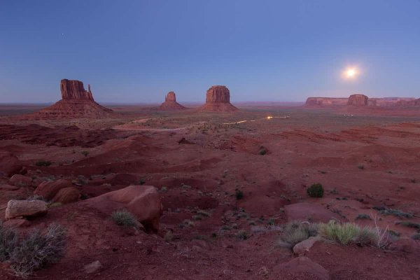 Monuments by Moonlight