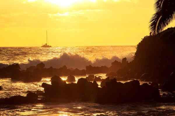 Sailing in Maui