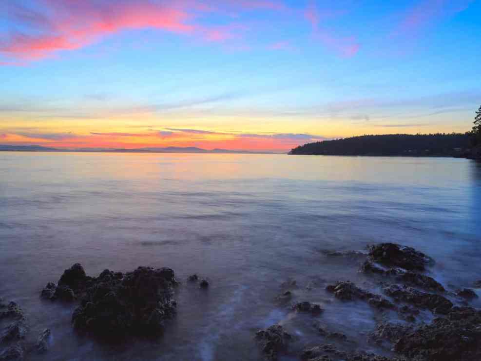 Salish Sea Sunset