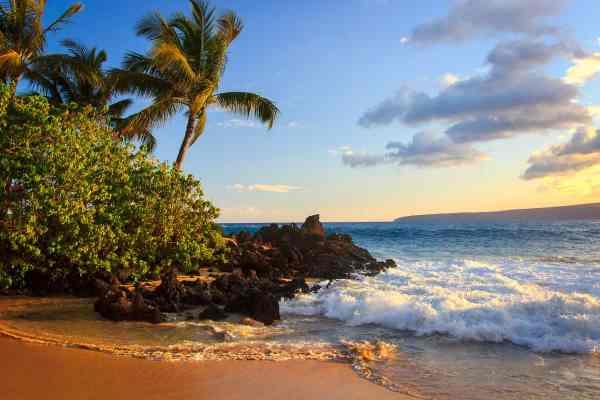 Secret Beach Evening
