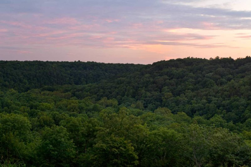 Sunset in Mammoth Cave