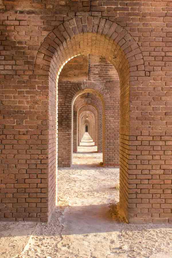 Access Archways of Fort Jefferson