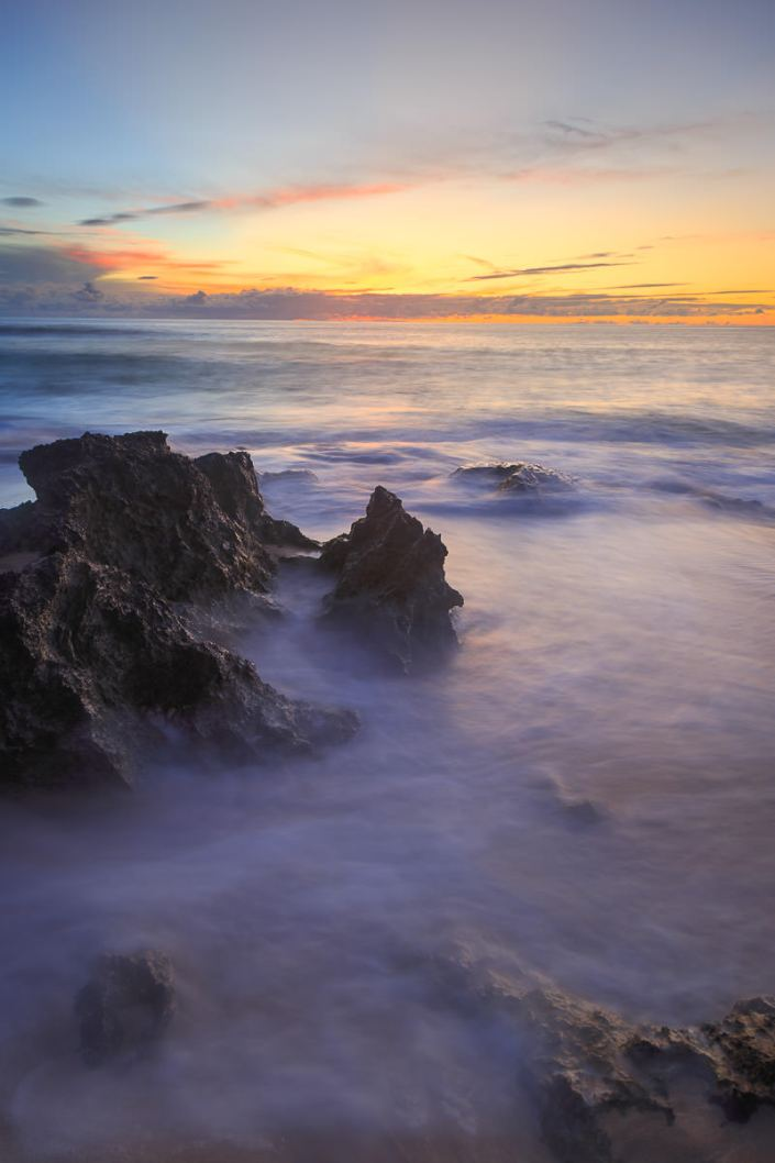 Lava Rock Sunset