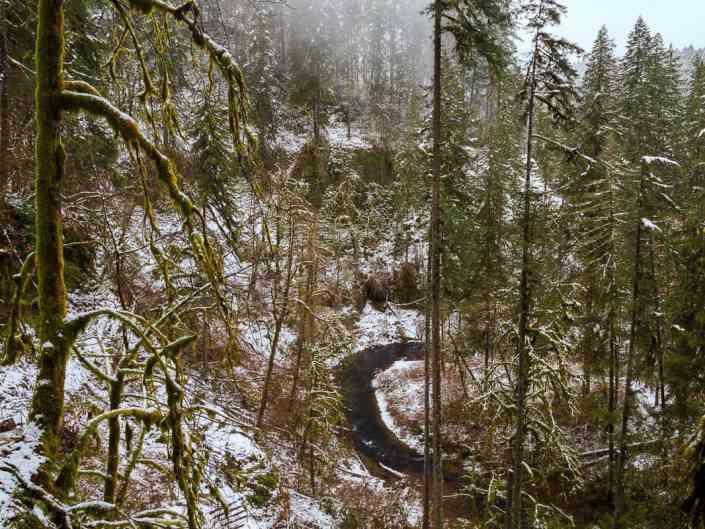Silver Creek Snowfall
