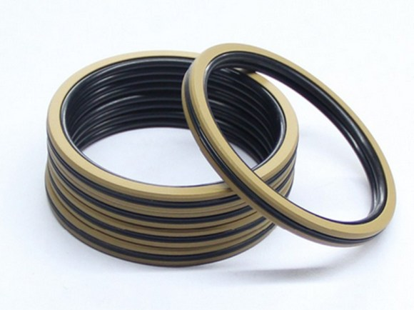 DSH-Pneumatic Piston Seal | Dqf-bronze Filled Ptfe Nbr Compact Seal-2