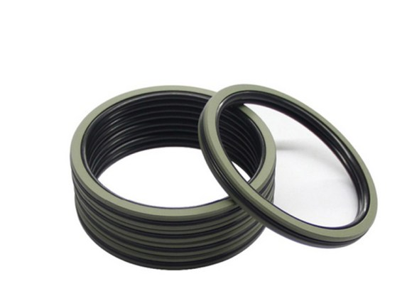 DSH-Pneumatic Piston Seal | Dqf-bronze Filled Ptfe Nbr Compact Seal-3