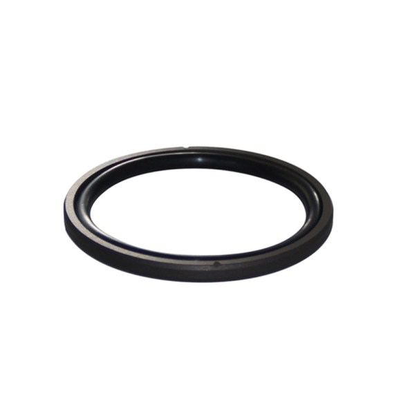 What are the properties of the material used on the oil seal?