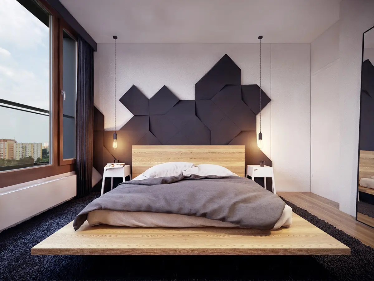 10 Beautiful Examples Of Bedroom Accent Walls DSigners