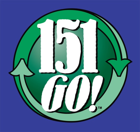 151 GO! Logo