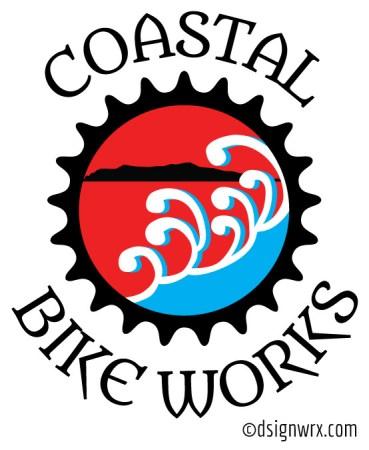 Coastal Bike Works Gear Wrap Logo