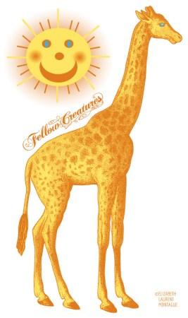 Giraffe-and-Sun
