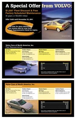 Automotive & Events Print Design Examples