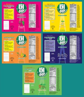 Food & Nutrition Packaging Design