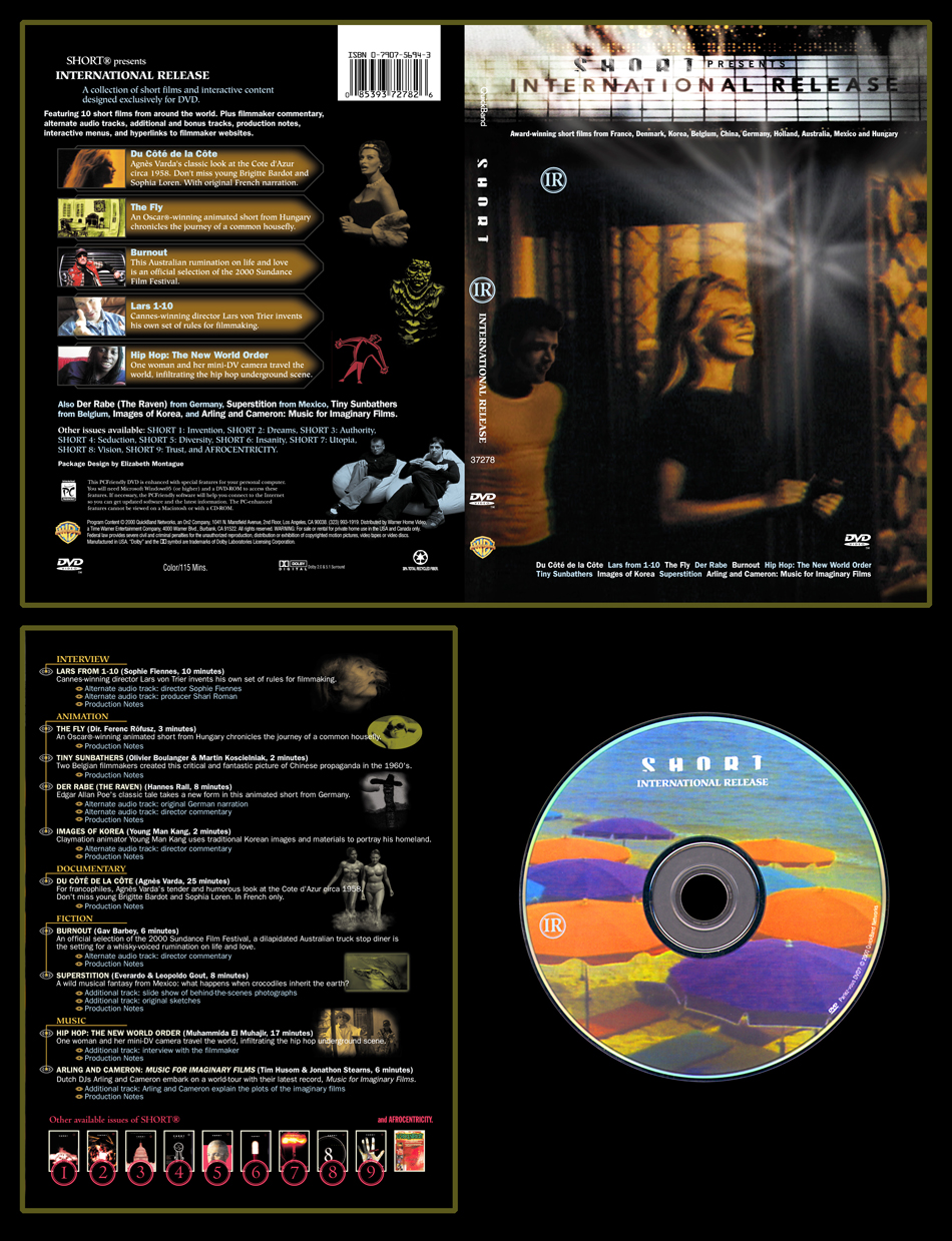International Release DVD Package