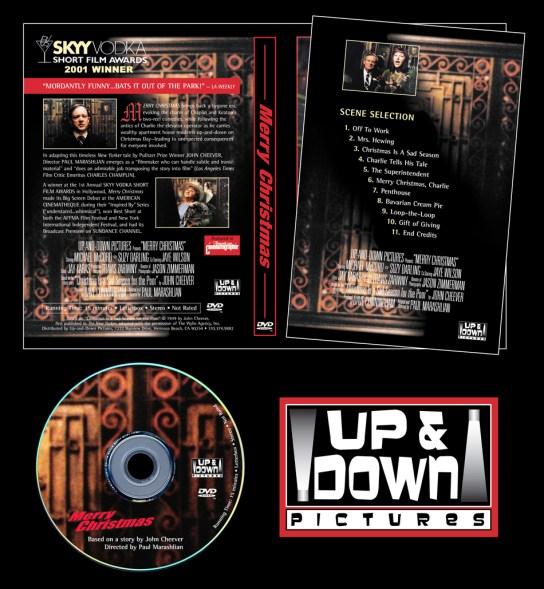 Merry Christmas DVD Packaging