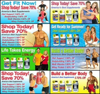 Nutrition Express Web Banners