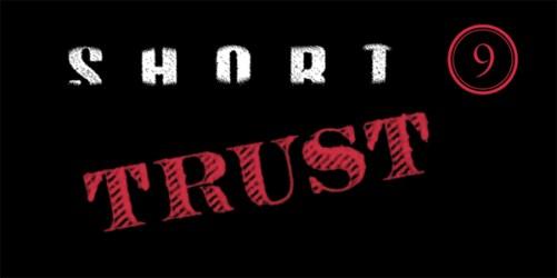 """Short 9 """"TRUST"""" Logo"""