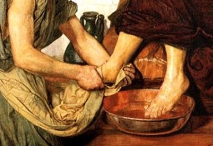 Image result for washing of the feet