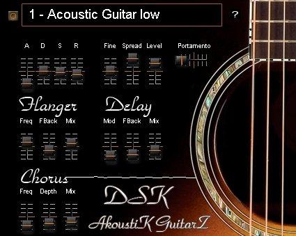 Free VST download DSK AkoustiK GuitarZ : DSK Music
