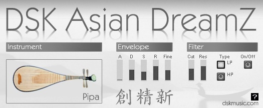 Free VST download DSK Asian DreamZ : DSK Music