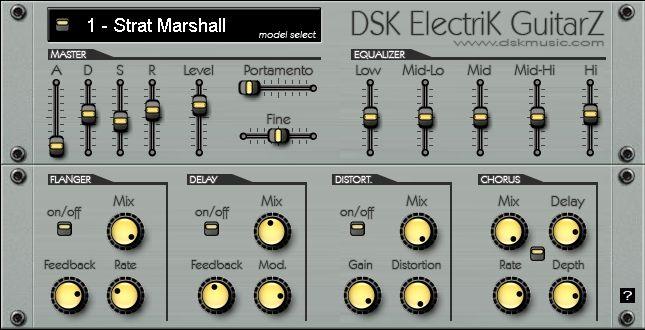 Free VST download DSK Electrik GuitarZ : DSK Music
