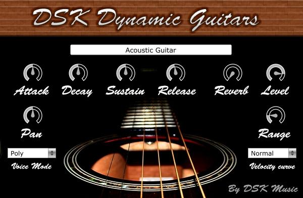 Free VST download DSK Dynamic Guitars : DSK Music