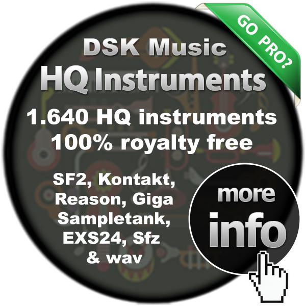 Best Sampled Instruments: SoundFont (sf2), Kontakt, Reason