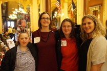 Ashley Kuonen, Jessica Brown, Meghan Mahoney and Kristi Sterling