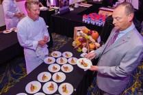Chef Lynn Pritchard and Larry Johnson