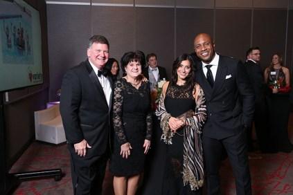 Ray and Susan Cole, Nikki Bonacorsi and Jay Williams