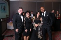 Ray and Susan Cole, Nikki Bonacorsi and Jay Williams