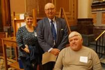 Senator Mark Segebart, Jackie and Rick Meister