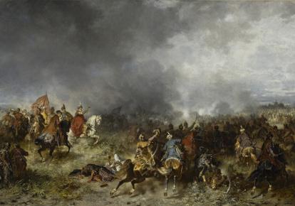 Найгучнішу перемогу над турками Сагайдачний здобув під час знаменитої Хотинської битви 1621 р.