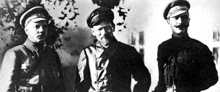 Клим Ворошилов, Михаїл Калінін, Семен Будьонний