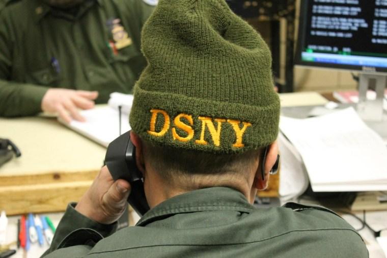 dsny supervisor hat