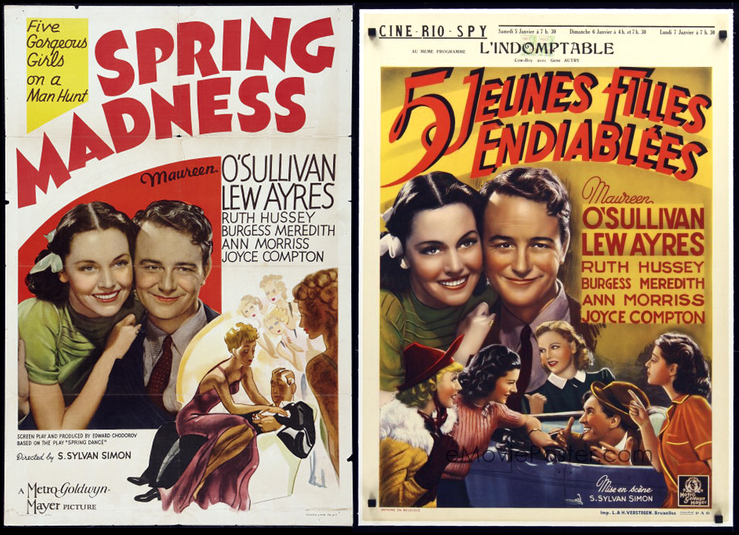 Image result for spring madness 1938 poster