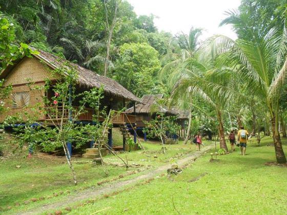 El valle donde se situaban las habitaciones de Nuts Huts