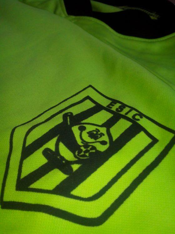 El escudo del Limonero, bordado en nuestra equipación.