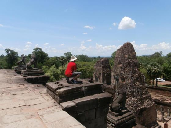 7 - Mi otro viaje fuera de las fronteras filipinas fue Camboya. Es increíble cómo un país tan pequeño puede albergar una riqueza cultural e histórica tan grande.