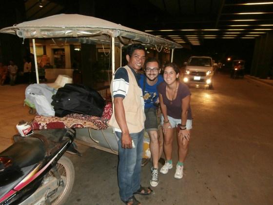 Ese tuktuk nos acompañó a todos y cada uno de nuestros viajes por Camboya.