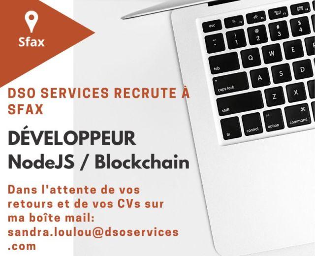 Développeurs NodeJS- Blockchain