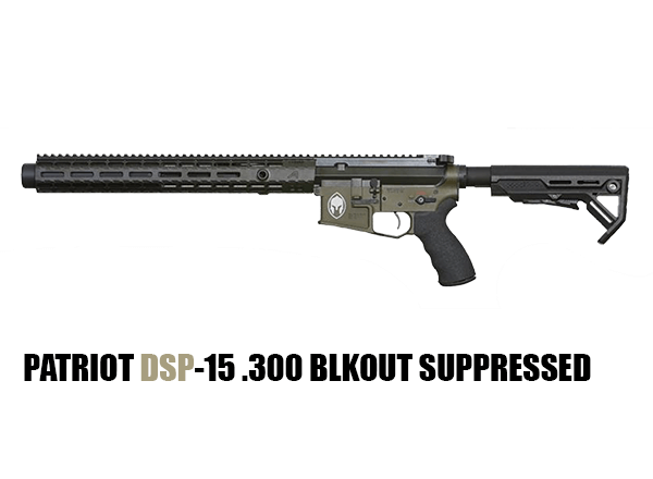 PATRIOT DSP-15 .300 BLKOUT SUPPRESSED