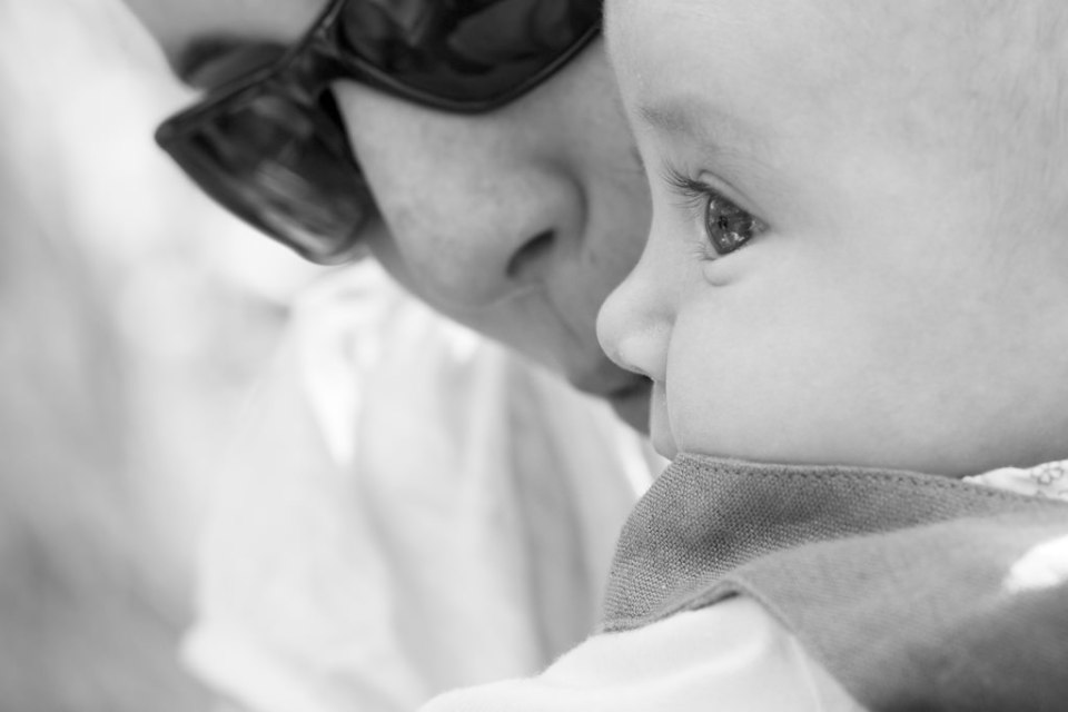 Photo de bébé: les yeux
