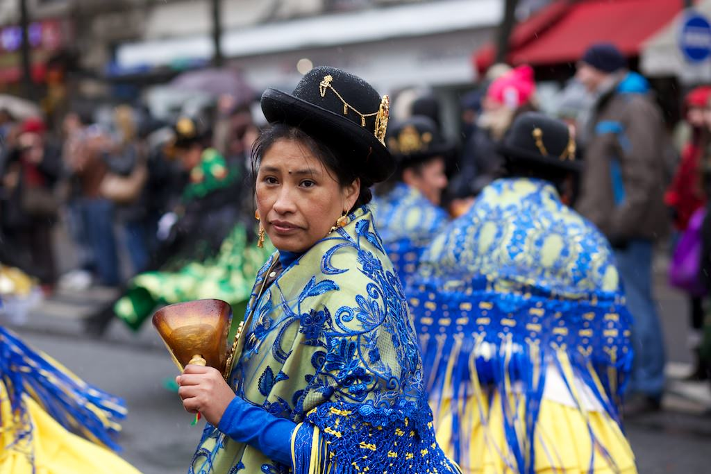 Photographie du Carnaval de Paris 2013