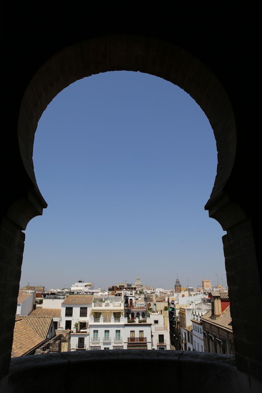 Seville vue du Minaret