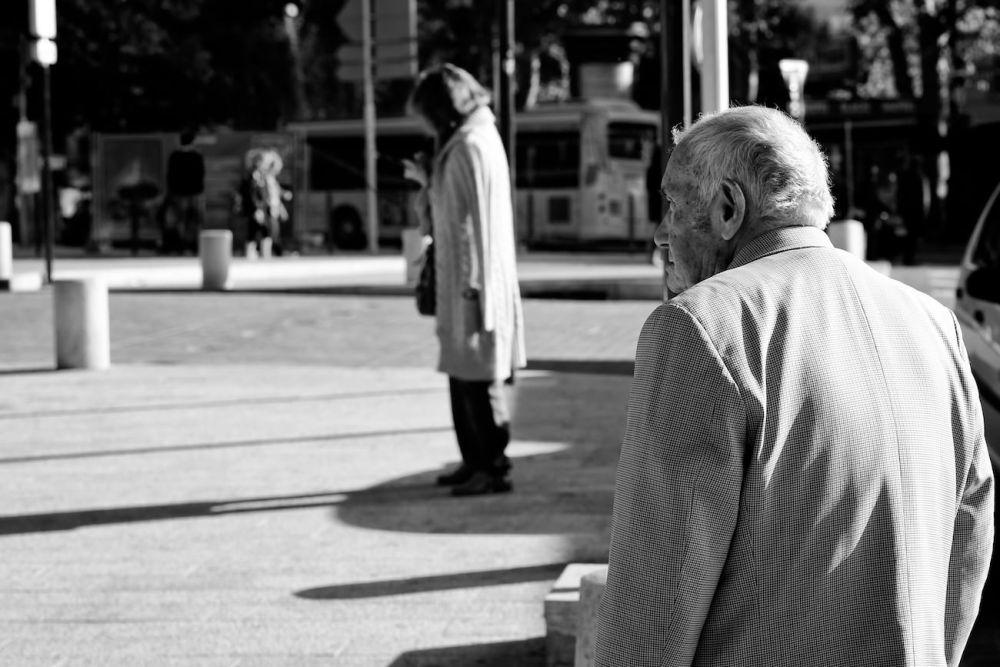 Photo d'un homme dans le centre d'Aix