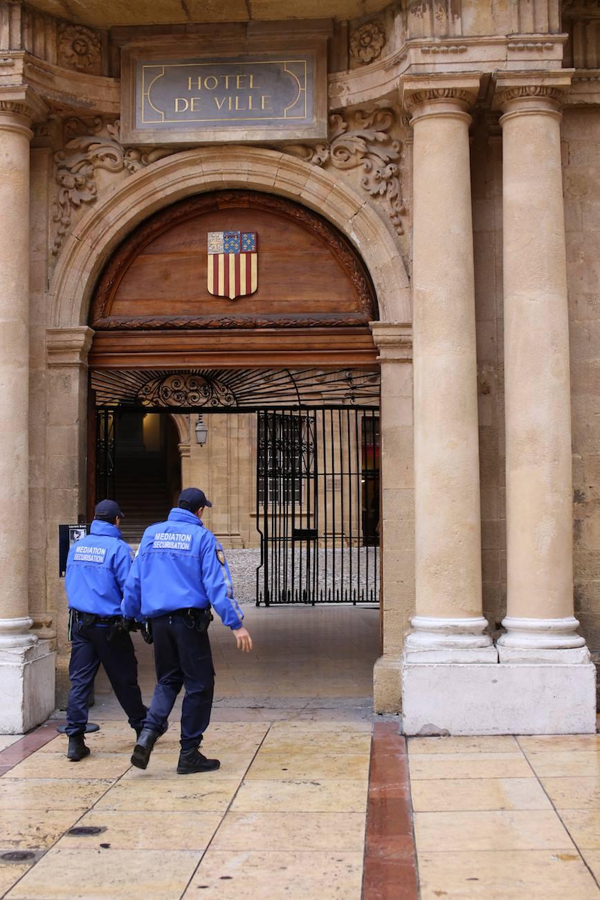 #10 Hôtel de ville d'Aix en Provence