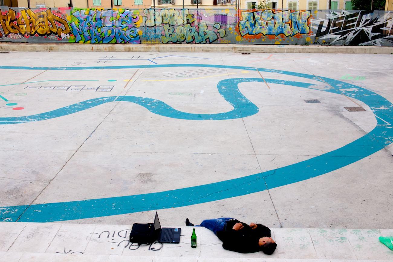 Photo street art Marseille