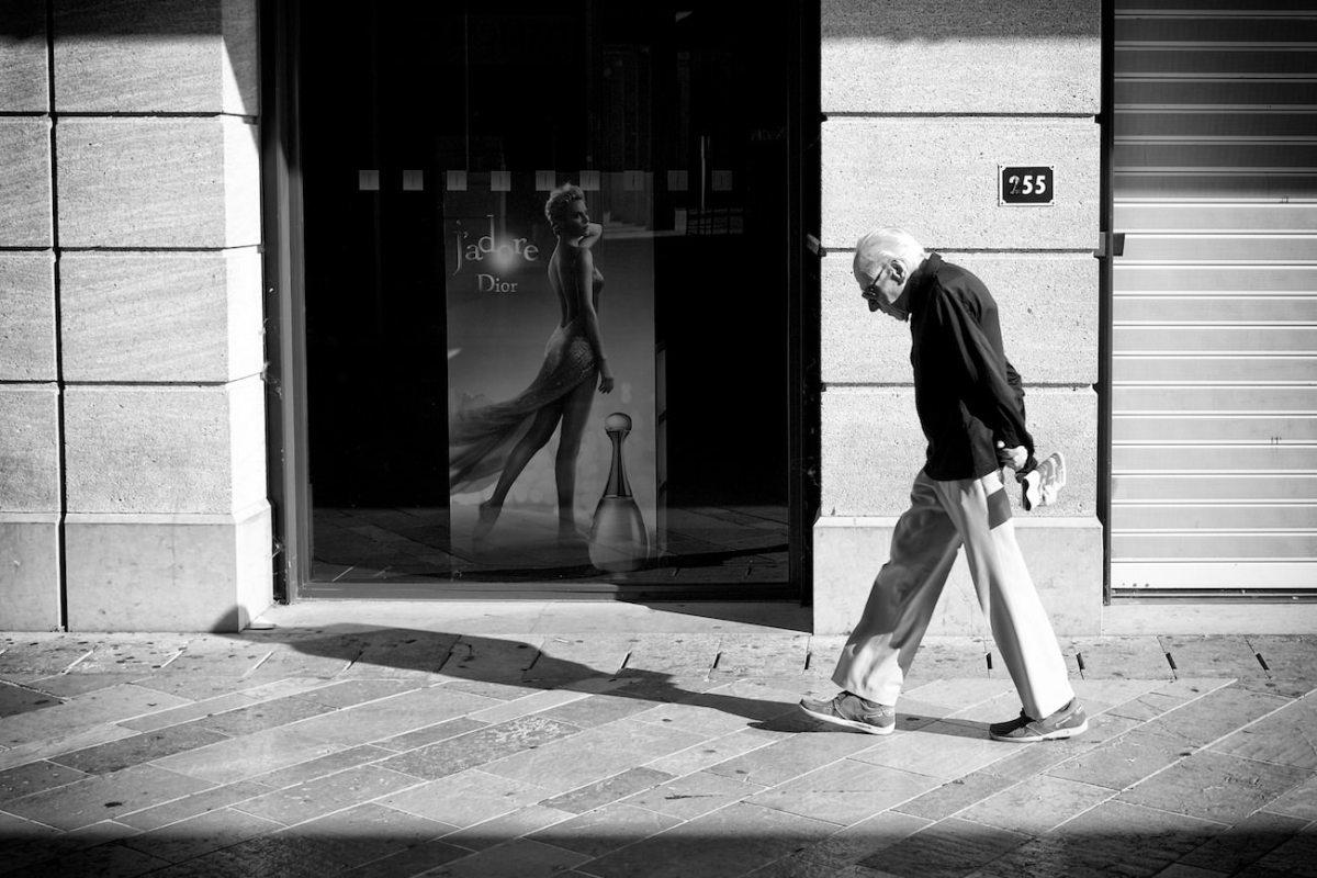 Street photo dans la ville d'Aix en Provence