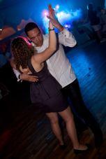 Danseur à un mariage au 40mm
